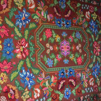 вишитий килим ковер (№873)