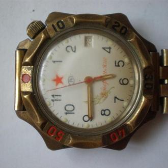 часы Восток Генеральские рабочий баланс 0409
