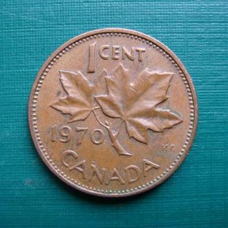 Канада 1 цент 1970