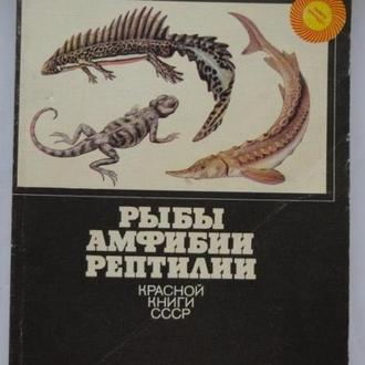 Рыбы, амфибии, рептилии Красной книги СССР