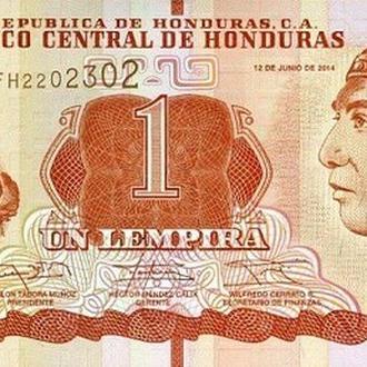Гондурас 1 лемпира 2012 UNC