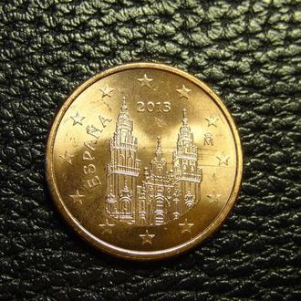 5 євроцентів 2013 Іспанія UNC рідкісна
