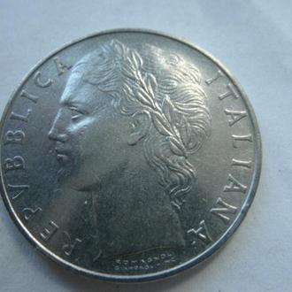 100 лир Италия 1970 год
