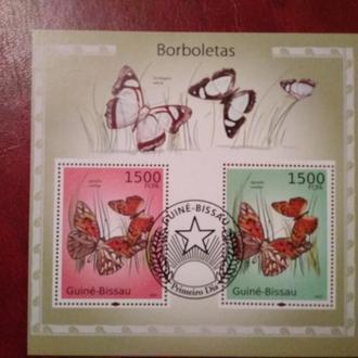 Бабочки Guine-Bissau