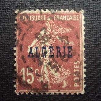 Колонии Франции. Алжир. гаш. 1924г.