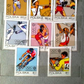 Польша 1972г  Олимпийские игры Мюнхен