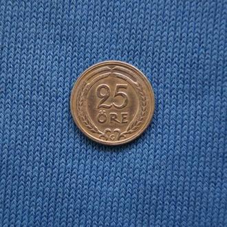 Швеция  25 эре оре 1940  г