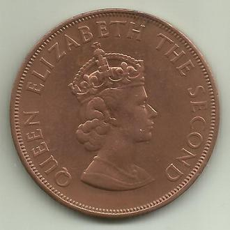 Джерси Элизабет II 1/12 шиллинга 1966 UNC