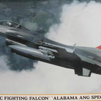 "Сборная модель самолета F-16C Fighting Falcon  ""Alabama ANG Special"" 1:48 Hasegawa 09766"