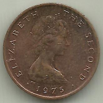 Мэн остров Элизабет II 1/2 нового пенни 1975 aUNC