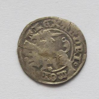 полугрош 1501-1506гг Александр Ягелончик , Литва, Вильно (А25)