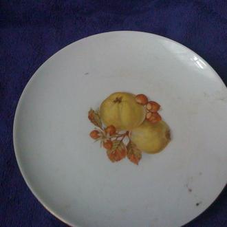 Фарфоровая настенная тарелка Германия