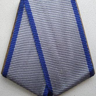 Колодка со старой лентой к медали за Отвагу