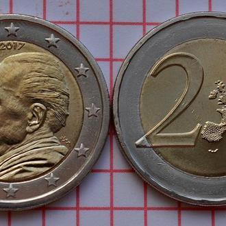 Греция 2 евро, 2017 60 лет со дня смерти Никоса Казандзакиса