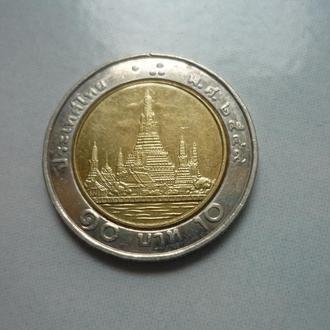 Таиланд 10 батов  биметалл