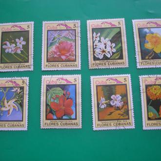 Куба 1983 Цветы *