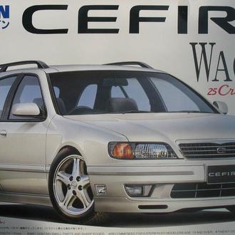 Сборная модель автомобиля Nissan Cefiro Wagon  1:25 Fujimi