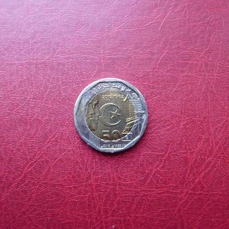Алжир 200 динар 2012 Независимость
