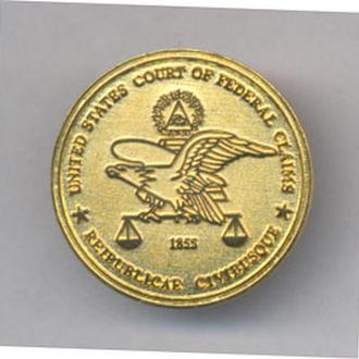 Знак Судьи Федеральный суд США.