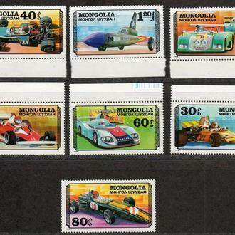 марки почтовые Mongolia