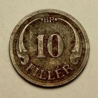 10 филлеров 1940 года Венгрия  !!! а2