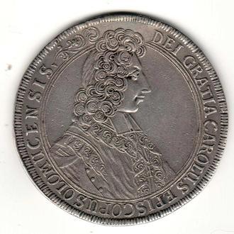 талер 1705 р, Ольмуц