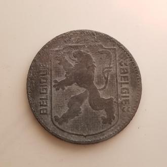 Бельгия 1 франк 1942 год