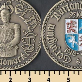 Герцогство Курляндское и Семигальское 1 золотая марка 2013