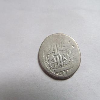 Старая  серебрянная  монета  Востока