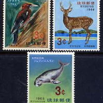Рюкю 1966 Фауна