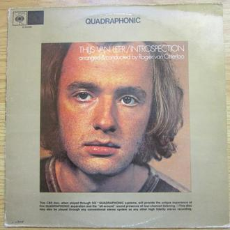 LP Thijs van Leer ‎ Introspection ( Focus ) Vg+  Голландия