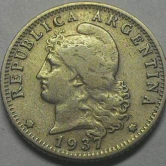 Аргентина, 20 сентаво 1937 год