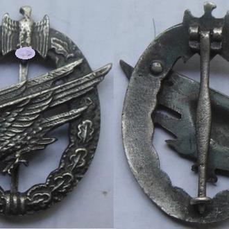 Квалификационный знак Парашютист Вермахта.
