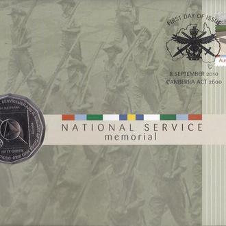 Австралия 50 центов 2011