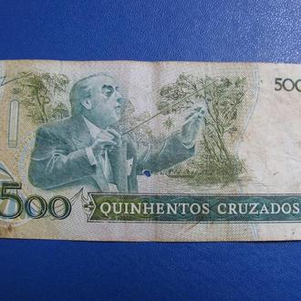 Бразилія Бразилия 500 Крузадос Крузейро
