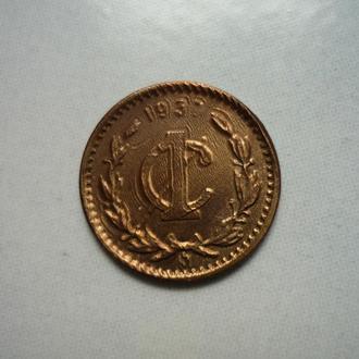 Мексика 1 сентаво 1937