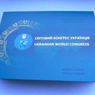 5 гривен 2017 г.  Мировой конгрес украинцев