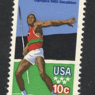 США - олимпиада 1980 - Michel Nr. 1395 **