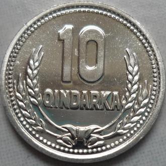 Албания 10 киндарок 1988 состояние в коллекцию