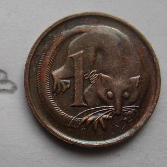 АВСТРАЛИЯ 1 цент 1988 г. (КАРЛИКОВЫЙ КУС КУС).
