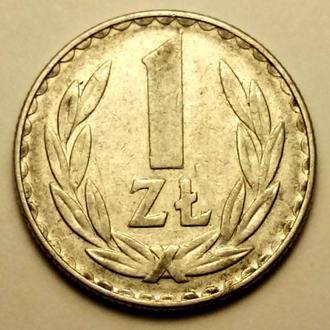 1 злотый 1978 года Польша - 100% оригинал  !!! - а2