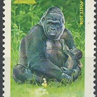 фауна Франция (Юнеско)-2008 горилла