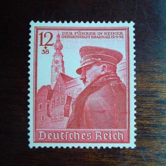 3-ий Рейх.1939г. А.Гитлер. Полная серия. MNH. КЦ 11.00 EUR!