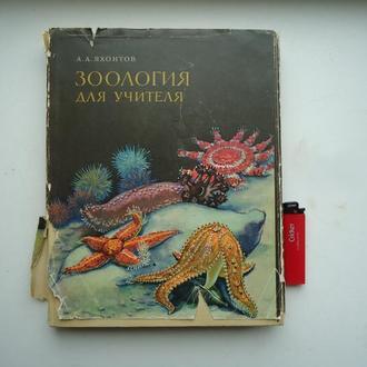 Зоология для учителя том первый 1968г.