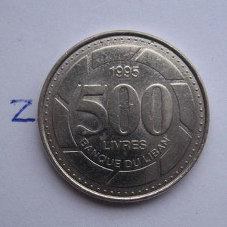 ЛИВАН, 500 ливров 1995 г.