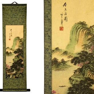 Панно настенное цветное для декора k02017-01