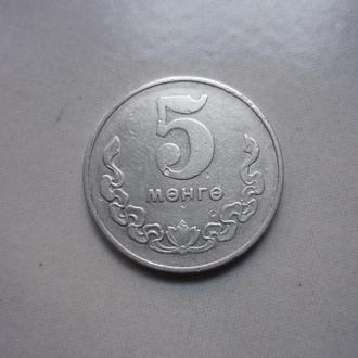 Монголия 5 мунгу 1970