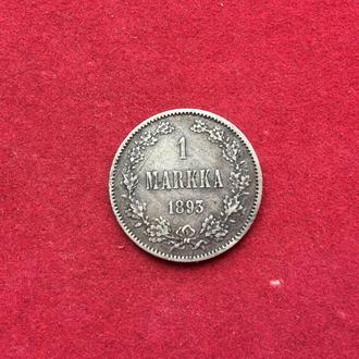 (#47) 1 марка 1893 г Александр ІIІ Россия для Финляндии