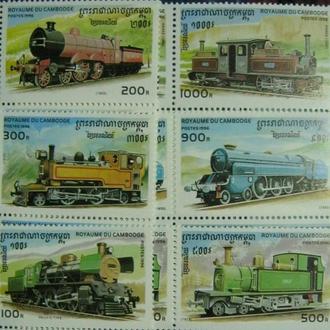 жд паровозы локомотивы поезда камбоджа т