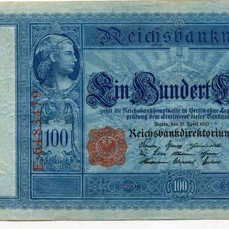100 марок 1910 р. Берлін.